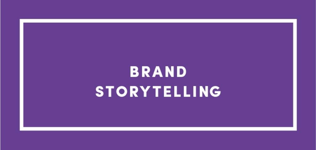 Brand storytellers